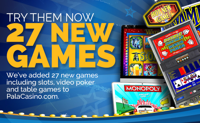 Nj casino online games