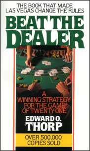 The Cover to Beat the Dealer by Ed Thorp