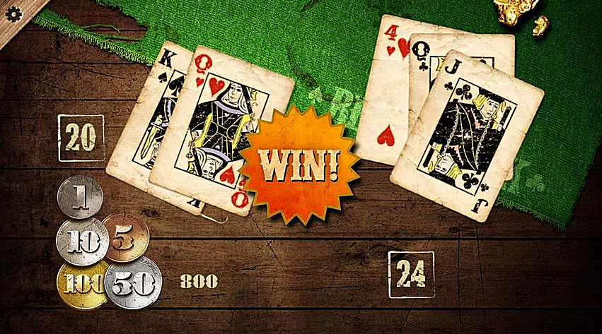 download Gold Rush Blackjack app to hone skills