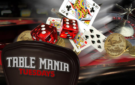 Tuesday Table Games Casino Bonus at Bovada